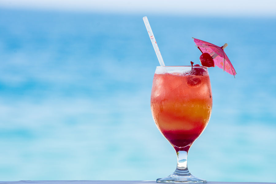 Cocktail Beachside Red